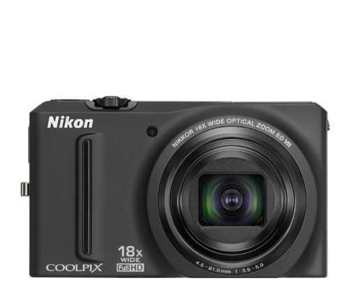 Purchase Nikon COOLPIX S9100 12.1 MP CMOS Digital Camera with 18x NIKKOR ED Wide-Angle Optical Zoom ...