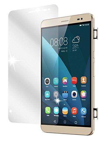 dipos I 3X Schutzfolie klar kompatibel mit Huawei MediaPad X2 Folie Bildschirmschutzfolie