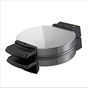 """7.25"""" Belgian-Style Waffles - Create classic 7.25"""" round Belgian-style waffles, the perfect size for one serving. Nonstick Plates - Waffles slide out easily thanks to the nonstick plates, which are simple to clean Cool-Touch Handle - The extended han..."""