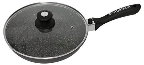 SCHUMANN PROFESSIONNEL SPO2302800 Poêle moove Noir 28 cm, Fonte d'Aluminium/Revêtement