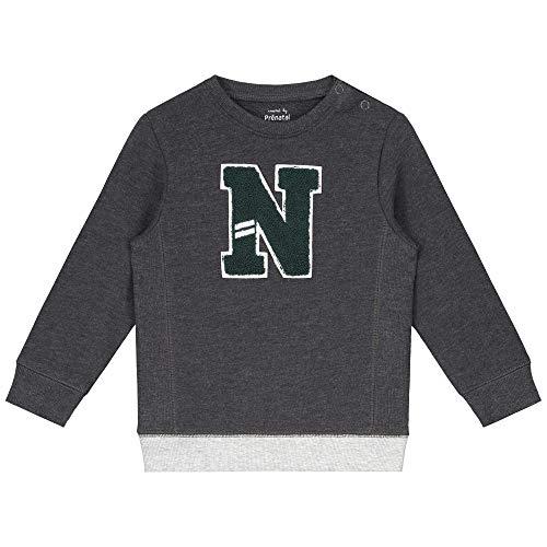 Prénatal Baby-Jungen Sweatshirt Grau Größe 68