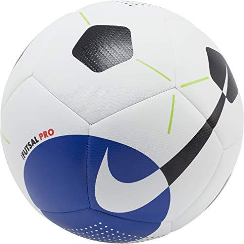 Nike NK Futsal Pro Long Sleeve Top, Herren, Weiß/Racer Blue/Schwarz