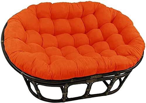 Esteras para sillas Cojines de silla de canasta colgante para muebles de jardín, sillín de doble papasano con una silla de papasana doble, almohadillas de silla de huevo colgantes de color múltiple 17