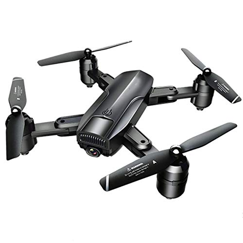 J-Love Drone con cámara Dual 4K para Adultos 20 a 30 Minutos Vuelo, cuadricóptero GPS con Motores sin escobillas, Retorno automático, retención altitud, transmisión 5G WiFi FPV