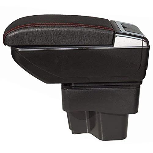 Coche ABS Apoyabrazos para Kia Forte 2009-2016, El organizador grande de la caja de almacenamiento del reposabrazos del asiento de carro, el coche reemplaza los accesorios