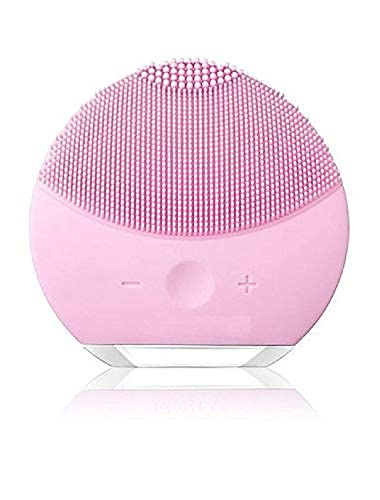 Facial Cleansing Brush, Sonic Silicone Scrubber, Face Vibrating Massager, IPX7 Waterproof, Rechargeable, Deep Cleaning for All Skins- multi color