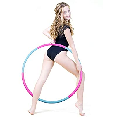 Liberry Kids Hoola Hoop, Detachable & Size Adjustable, Professional Hoola Hoop for Kids