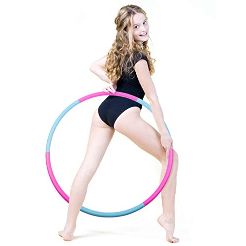 Buy Bargain Liberry Kids Hoola Hoop, Detachable & Size Adjustable, Professional Hoola Hoop for Kids