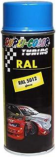 DUPLI COLOR 238109 Lackspray Spray Paint RAL 5012 Glänzend, 400 ml