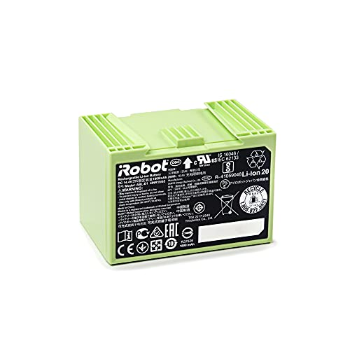 iRobot Batteria agli Ioni di Litio Parti Originali, Compatibile con Roomba Serie e/i, 26 W, Verde