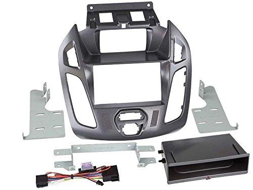 ACV Adaptateur de façade 2-DIN pour Inbay pour Ford Transit Connect 2013 > Gris Pegasus