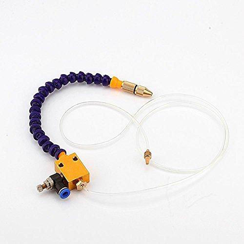 FTVOGUE Cooling Sprayer Mist Lubrication Líquido Refrigerante para CNC Torno de Fresado de Molienda Máquina de Tallado de Taladrado para corte de metal Grabado