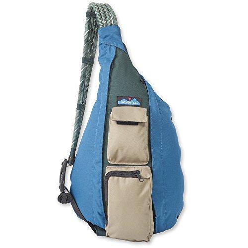 KAVU Original Rope Sling Bag Polyester Crossbody Backpack - Northwest