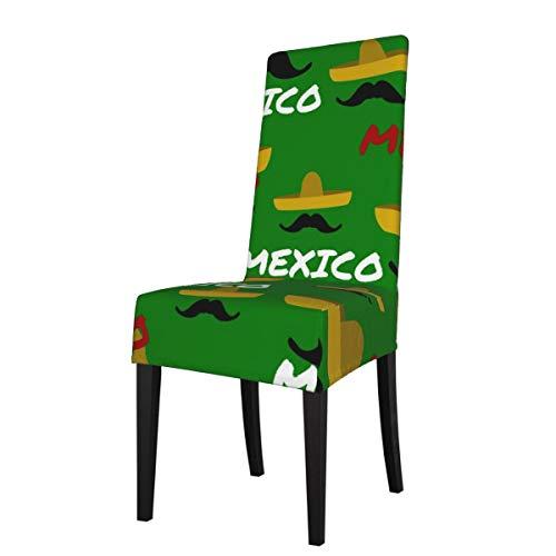 DOGPETROOM México - Funda para silla de comedor grande con respaldo alto para hotel, fiesta, boda, cocina
