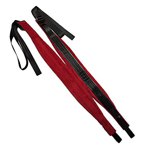 Akkordeon Schultergurte, 4 Farben Verstellbare Akkordeon für 16-120 Bass (rot)