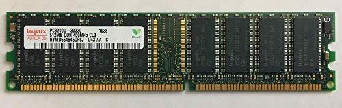 HYNIX SKハイニックス ハイニックス純正品 DIMM DDR SDRAM PC3200 512MB 400