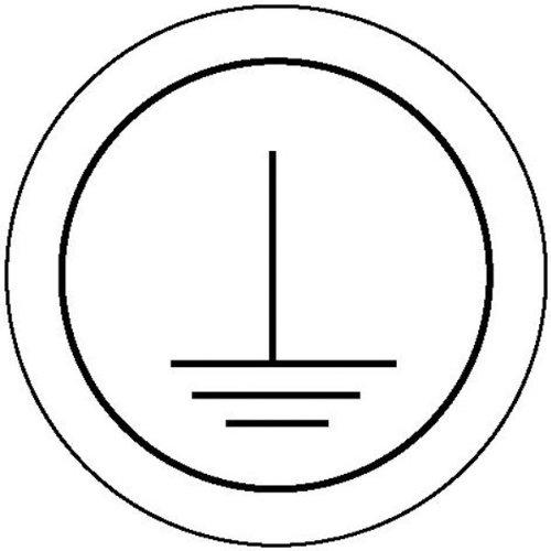 Betriebsausstattung24® Kennzeichnung Schutzleiter, Folienetiketten auf Rolle, 1,60 cm