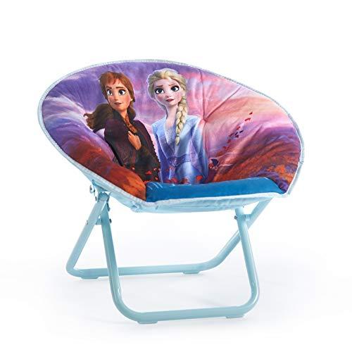 Disney Frozen 2 Saucer Chair, Featuring Anna & Elsa, Multi