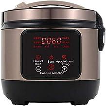 Cuiseur de riz programmable Food Steamer Digital 5L Élimination faible Sugar Multi Smart Grain Maker Health Inox Stew Stee...