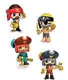 Pinypon Action Figura Pirata, colores surtidos, (Famosa 44715581), 1 unidad