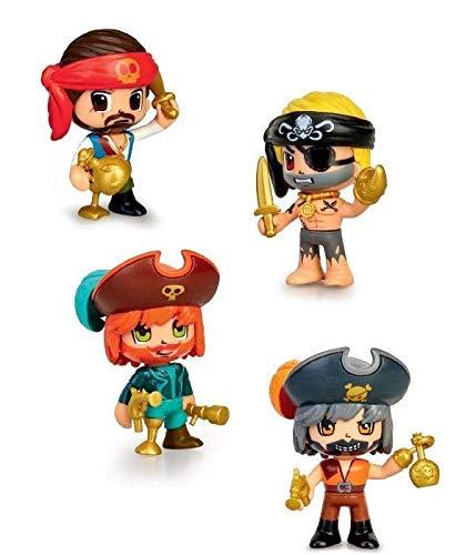 Pinypon Action Figura Pirata, colores surtidos.