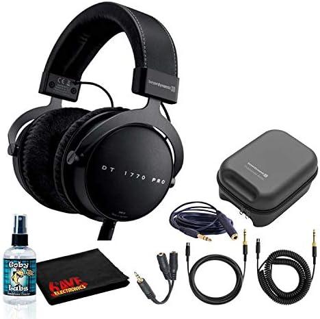Beyerdynamic DT 1770 Pro 250 Ohm Closed Back Studio Reference Headphones Bundle with Hard Case product image