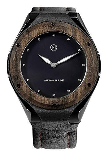 NOVE Craftsman Swiss Made Quartz Watch Black for Men D005-01