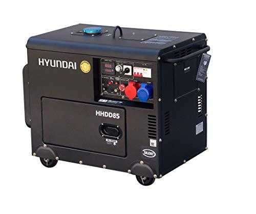 Hyundai DHY8600SE-T - Grupo electrógeno diésel mono y clasificación 8 kVa