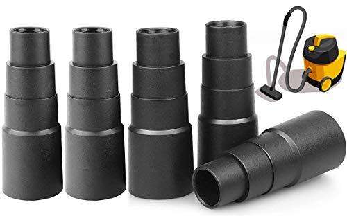 5 Stück Staubsauger Adapter Werkzeug Universal Schlauchadapter Universal Staubsauger Adapter Schlauch Reduzierstück Für Werkzeug Für Alle Arten Von Saugschnittstellen-Reduzierstücke Von Staubsaugern