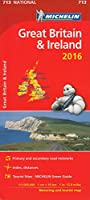 Great Britain & Ireland 2016 National Map 713 2016 (Michelin National Maps)