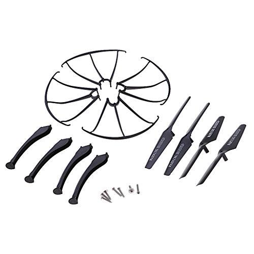 Kit di Protezione Puntello di Atterraggio Dell elica per Pezzi di Ricambio per Drone SYMA X5SC X5SW