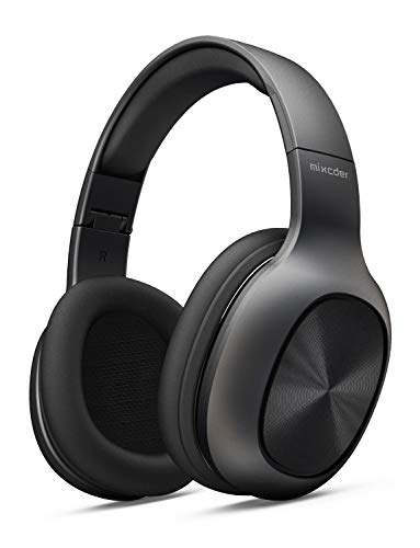 Auriculares Inalámbrico de Diadema, Mixcder HD901 Cascos Bluetooth 4.2, Cascos Inalambricos Plegable con Micrófono Incorporado, Ligero y Cómodo, Apoyo Tarjeta TF, Hi-Fi Estéreo para Moviles, TV, PC