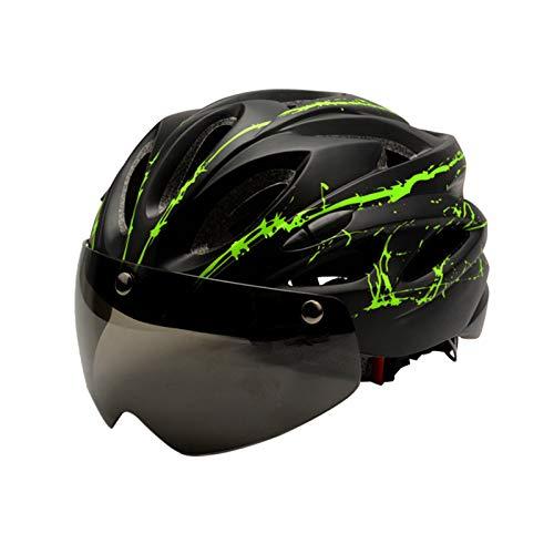 Zeroall Casco de Bicicleta Ligero para Hombre Mujer 56-62cm Tamaño Ajustable Casco...