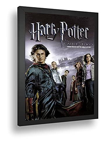 Quadro Decorativo Poste Garry Potter E O Calice De Fogo Retro