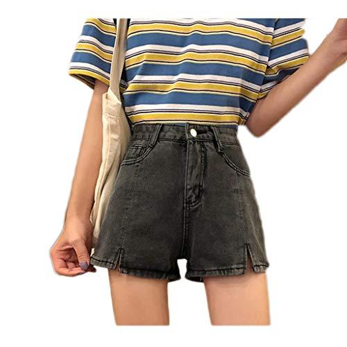 GCX- Nuevo Verano de Cintura Alta Pantalones Cortos de Mezclilla Mujeres Flojas...