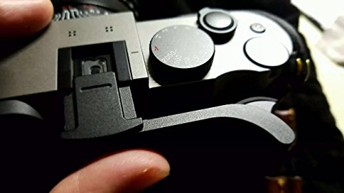 EWOOP Daumengriff aus Metall für Leica Q (Typ 116) für bessere Balance und Griffigkeit, Schwarz