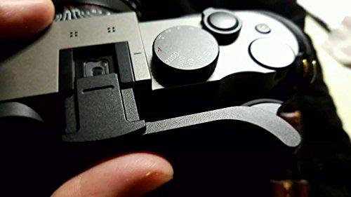 Ewoop Thumbs Up grip progettato per Leica Q (tipo 116) migliore equilibrio e manico comodo, fotocamera Black metal Hand grip, nuova versione sicuro la macchina fotografica