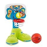 Chicco Bascket 123 - Divertida canasta de baloncesto infantil con diferentes formas de juego, luces...