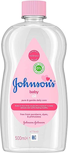 Johnson's Baby Oil, 500ml