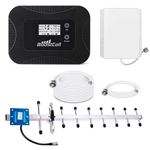 BS900. Amplificador Cobertura Llamadas + 3G Zonas Rurales (20m. Cable)