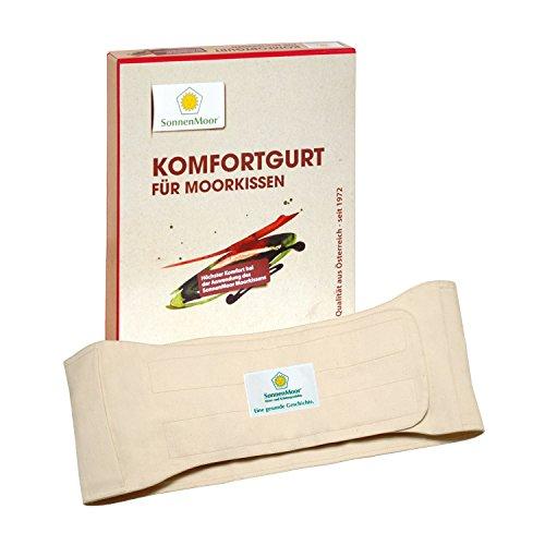 SonnenMoor Komfortgurt für das Moorkissen Medi, aus naturbelasserner, Baumwolle