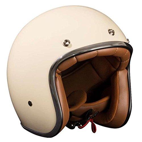 Stormer casco jet Pearl, color blanco roto crema talla crema, color bl