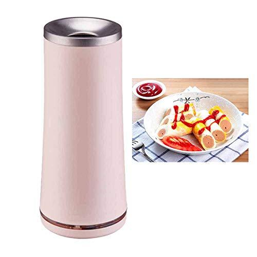 jdiw Eierbrötchenmaschine Eierbrötchenmaschine Automatische Multifunktionale Elektrische Eierkocher Antihaft Cooker,pink