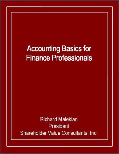 Accounting Basics For Finance Professionals (English Edition)
