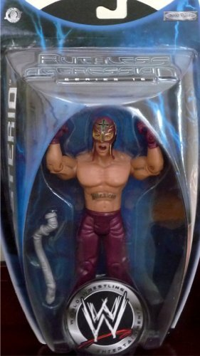 WWE Jakks Pacific Wrestling Action Figure Ruthless Aggression Series 16 Rey Mysterio by Jakks