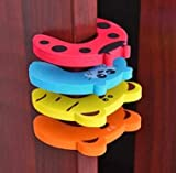 CuriousCrafts Baby Safety Door Guards (Pack of 4)