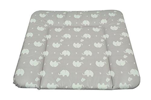 AsMi Wickelauflage Soft (Elefant ecru)