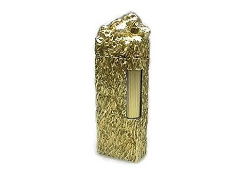 Dunhill Feuerzeug 18 Karat (750) Massivgold Brillant Rubin Limited Edition Lighter Handcrafted Handarbeit