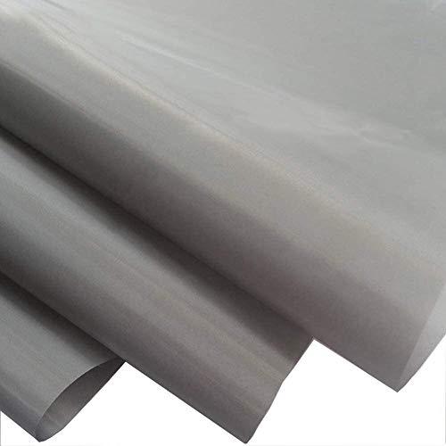 PHBSF Leitfähige Mesh-EMF Schutz Stoff, Faraday Stoff, Strahlenschutz, NFC RF RFID Elektromagnetische-Material Stoff (43 Zoll Wide) (Size : 1.1 * 3m)