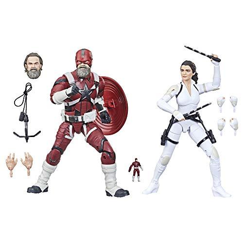 Hasbro Marvel Legends Series Avengers - Figuras de Red Guardian y Melina...